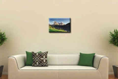 Digital Canvas Printing - A1 canvas print with a 100% cotton upgrade - Save 65%