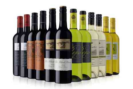 Sunday Times Wine Club - Sunday Times Wine Club 12 Bottles of Red, White or Mixed Wine Plus Wine Club Membership - Save 0%