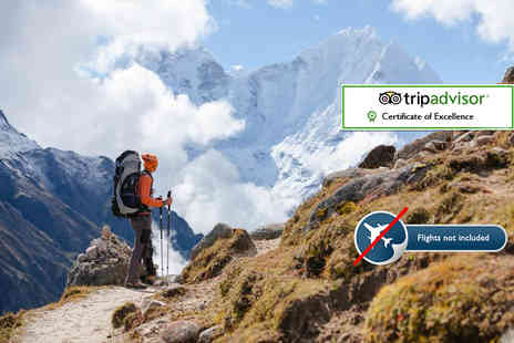 Himalayan Social Journey - 16 day Everest Base Camp trek including accommodation, tour, transfers and more - Save 65%