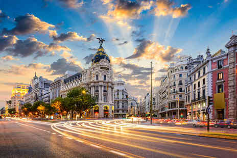 Worldwide Tours & Travel - Two or Three night 4 Star Madrid break including flights - Save 32%