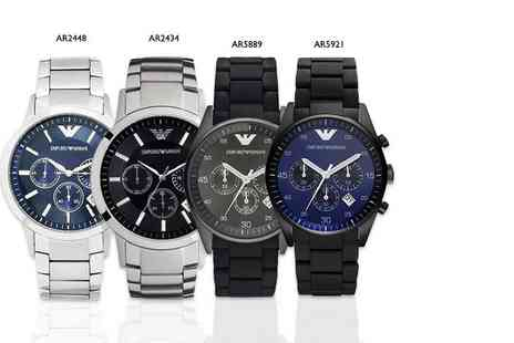Gray Kingdom - Mens Emporio Armani watch choose from four designs - Save 60%