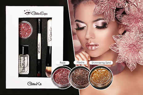 GlitterEyes - Glitter kit  choose from three colours - Save 36%