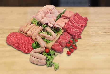 Allens of Mayfair - 38 piece exclusive fresh BBQ meat selection hamper- Save 0%