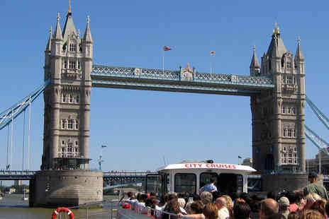 City Cruises - Child or Adult Thames circular sightseeing cruise ticket - Save 44%