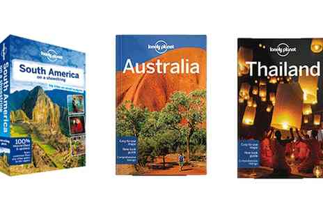 Lonely Planet - Up to Three eBook Travel Guides - Save 69%