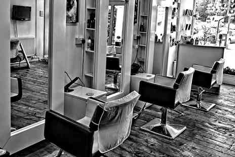 Syran John Hairdressing - Wash, Cut, Blow Dry and Condition with Optional Half Head of Highlights - Save 31%
