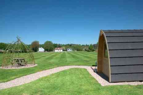 Stratford Caravans - Three or Four Night Self Catering Snug or Hobbit Hut Stay for up to Four - Save 0%