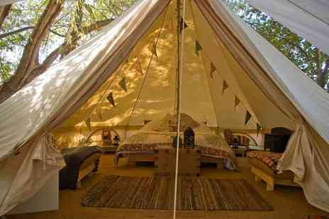 Wye Glamping - Four night weekday glamping break for up to 4 people or Three night weekend break - Save 42%