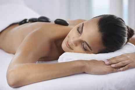 Mind2Body - Hot Stone Back, Neck and Shoulder Massage with Facial - Save 63%