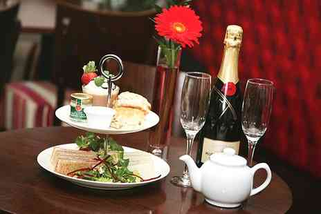Signature Steakhouse - Champagne Afternoon Tea for Two or Four - Save 57%