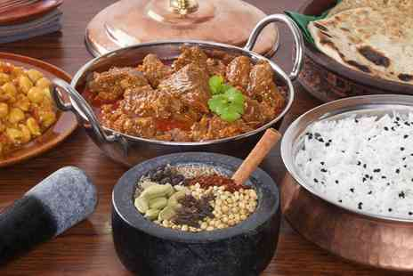 Jalfrezi - Two Course Indian Meal with Rice or Naan for Two or Four - Save 44%