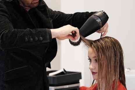 Chez Stephan Hairdressing Studio - Wash, Hairut and Blow Dry with Mask - Save 47%