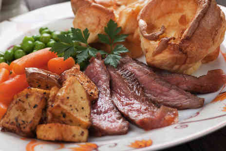 The Hotplate Noshery - Sunday lunch main course with a glass of wine for two - Save 36%