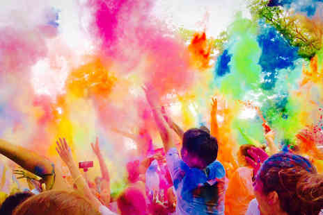 Think Tank - Adult ticket to the 5K Fun Colour Rush run on 25th Sep - Save 40%