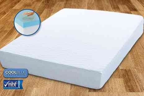My Mattress Online - Single, small double or double or king size Comfort CoolBlue memory foam mattress - Save 82%
