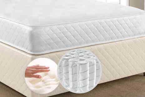 Prestige Nursery Mattresses - Single, small double or double or king size luxury CoolTouch memory and spring mattress - Save 80%