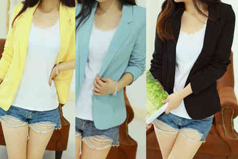 EF Mall - Ladies smart blazer choose from three colours - Save 72%