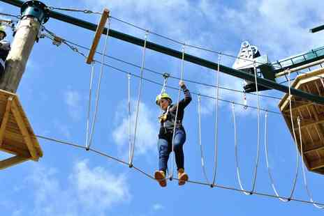 Conkers - Two Hour High and Low Ropes Experience for One or Two - Save 40%