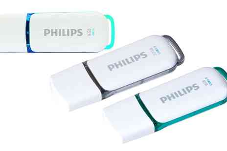 Groupon Goods Global GmbH - Philips Flash USB 3.0 8GB, 64GB Memory Stick - Save 0%