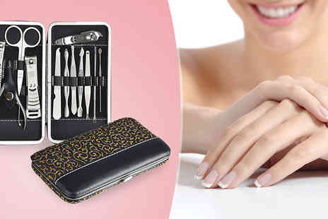 HB Wholesale - 12 Piece Manicure Set - Save 59%