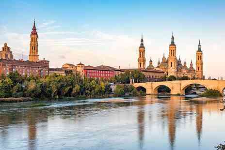 Tour Center - Two or Three night 4 Star Zaragoza getaway with flights - Save 23%