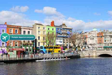 ClearSky Holidays - Two night Dublin spa break including flights, and a river cruise, comedy show or tickets to a wax museum - Save 43%