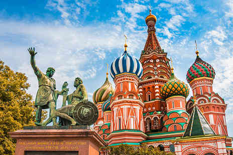 Tour Center - Four or Six night Moscow and St Petersburg break including flights and trains - Save 28%
