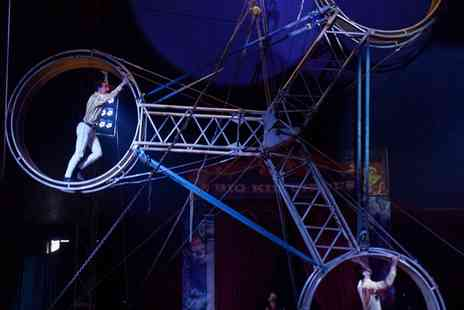 Big Kid Entertainment - Big Kid Circus on 2 To 11 September, Peterborough and Heckmondwike - Save 29%