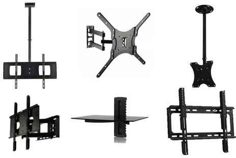 Groupon Goods Global GmbH - TV or AV Wall Mount Bracket - Save 0%