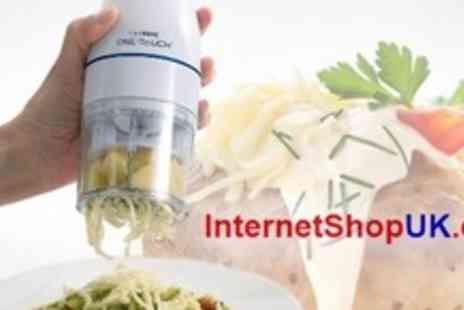 Internet Shop UK - Two Electric Culinare One Touch Power Cheese Graters - Save 67%