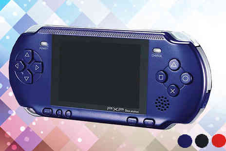 Fab Shopper - PXP Portable Handheld Games Console in 4 Colours - Save 33%