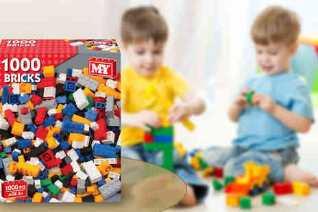 UK Home and Garden Store - 1000 Piece Childrens Building Block Set - Save 69%