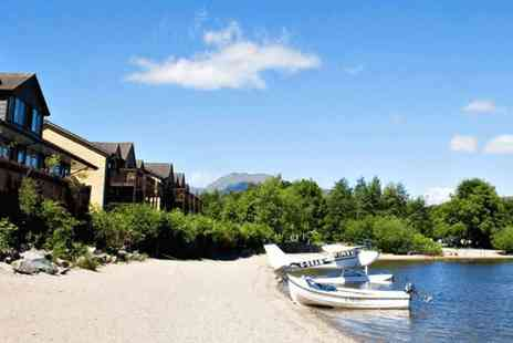 The Lodge - Overnight stay, a two course dinner and full Scottish breakfast for two - Save 40%