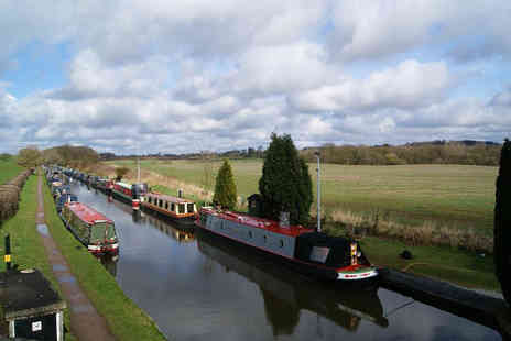 Norbury Wharf - Canal cruise on The Shropshire Star for one - Save 53%