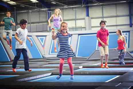 Air Space - One Hour Trampoline Session for Two - Save 54%