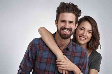 Studio Blink - One Hour Couples or Siblings Photoshoot with Two Prints or with a Canvas and Four Prints - Save 0%
