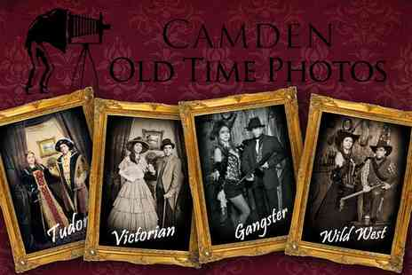 Camden Old Time Photos - Retro Photoshoot for Up to Four - Save 67%