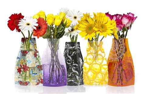 Groupon Goods Global GmbH - Reva Expanding Vase in Choice of Design - Save 0%