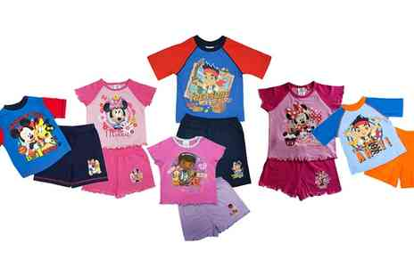 Groupon Goods Global GmbH - Childrens Short Pyjamas with Printed Characters - Save 0%