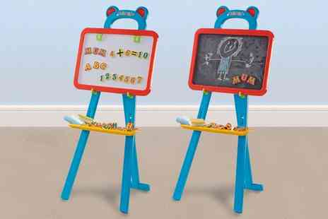 Groupon Goods Global GmbH - One or Two Kids Learning Easel - Save 0%