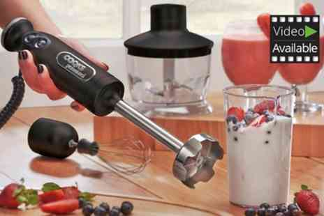 Groupon Goods Global GmbH - Cooks Professional Stick Blender With Accessories With Free Delivery - Save 70%