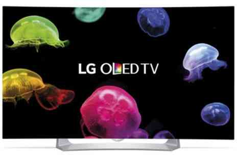 Groupon Goods Global GmbH - LG 55EG910V Smart 3D 55'' Curved OLED TV With Free Delivery - Save 11%