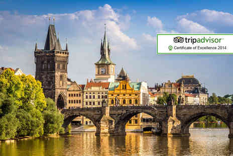 Tour Center - Four or Six night Berlin and Prague break with flights and train transfers - Save 46%
