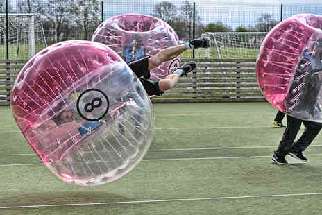 Xtreme Soccer - One hour zorb football session for up to 15 players - Save 0%