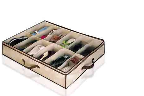 Fusion Homeware - Under bed shoe storage organiser - Save 80%