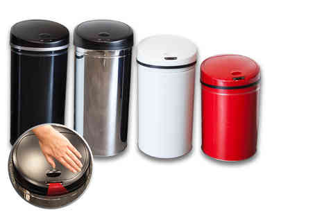 The Import House - 28 litre hands free auto sensor bin choose from four colours - Save 81%