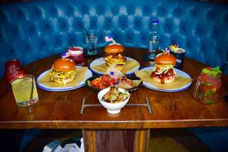 Wall of Fame Bar and Kitchen - Burger and Cocktail or Pint of Craft Beer for One, Two or Four - Save 63%