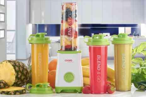 "Groupon Goods Global GmbH - ""Cooks Professional Personal Smoothie and Drinks Blender With Two or Four Cups - Save 0%"