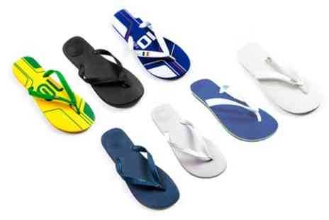 Groupon Goods Global GmbH - Unisex Dupe by Havaianas Flip Flops - Save 0%