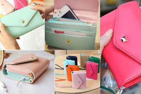 Fakurma - Smart pouch purse and mobile wallet  choose from seven colours - Save 87%